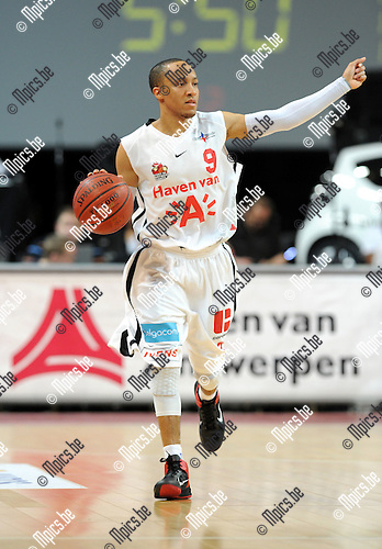 2012-02-15 / Basketbal / seizoen 2011-2012 / 1/4 finale Beker van België / Antwerp Giants - Charleroi / Sportpaleis / Timothy 'Tim' Black..Foto: Mpics.be