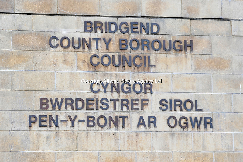 Pictured: A general view of Bridgend County Borough Council, in Bridgend, Wales, UK. Monday 17 September 2018
