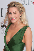 Mollie King arriving for the Elle Style Awards 2015, at The Sky Garden, London. 24/02/2015 Picture by: Alexandra Glen / Featureflash