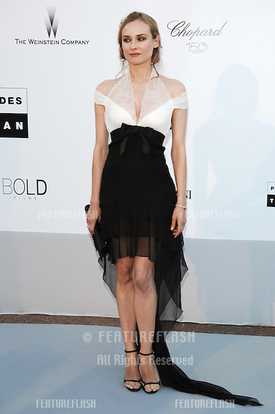 Diane Kruger  at the amfAR Cinema Against AIDS Gala at the Hotel du Cap, Antibes..May 20, 2010  Antibes, France.Picture: Paul Smith / Featureflash