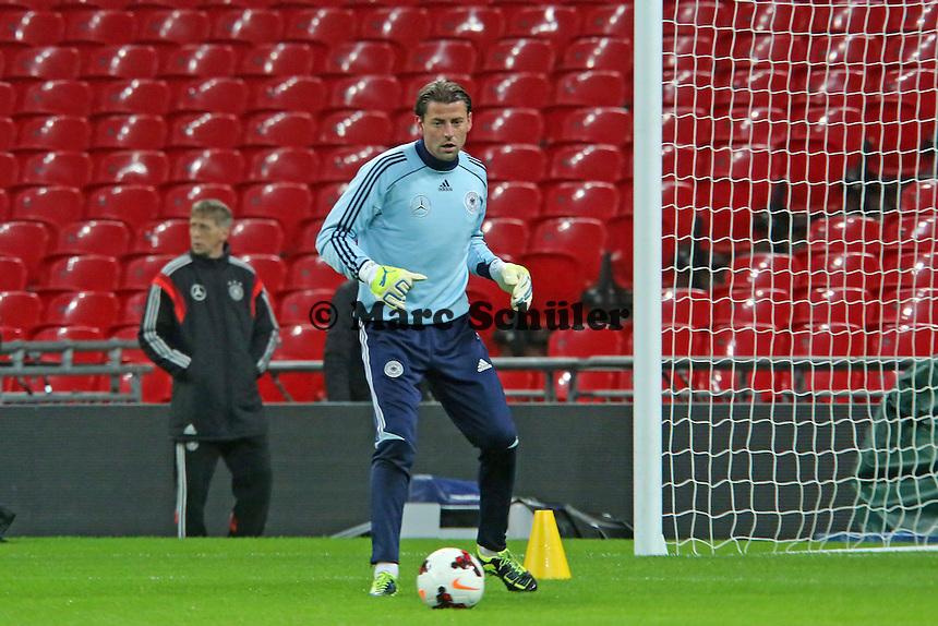 Roman Weidenfeller (D) - Abschlusstraining der Nationalmannschaft im Wembley Stadium