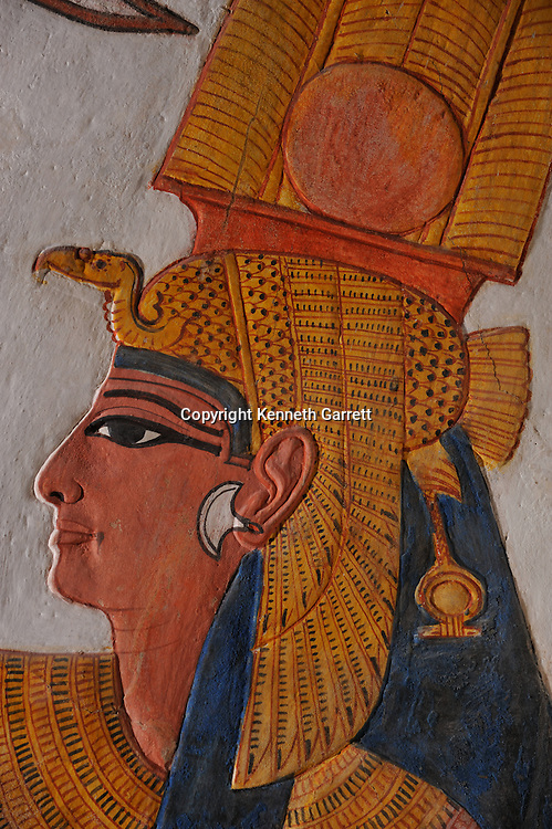 Zahi Hawass Secret Egypt Travel Guide; Egypt; archaeology; Luxor; West Bank; Valley of the Queens; Tomb of Nefertari, New Kingdom; wife of Ramses II; Ramesses the Great