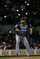 Dennys Reyes pitcher relevo de Tomateros, durante el tercer juego de la Serie entre Tomateros de Culiacán vs Naranjeros de Hermosillo en el Estadio Sonora. Segunda vuelta de la Liga Mexicana del Pacifico (LMP) **26Dici2015.<br /> **CreditoFoto:LuisGutierrez<br /> **<br /> Shares during the third game of the series between Culiacan Tomateros vs Orange sellers of Hermosillo in Sonora Stadium. Second round of the Mexican Pacific League (PML)