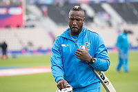 Andre Russell (West Indies) looked in determined mood at the warm up during England vs West Indies, ICC World Cup Cricket at the Hampshire Bowl on 14th June 2019