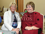 Suzie McCulloch and Marie McGuirk at the official opening of the new Associated Bridge Clubs of Drogheda (ABCD) headquaters on the Fair Green. Photo:Colin Bell/pressphotos.ie