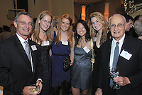 People Minging. Yale University Department of Athletics Blue Leadership Ball 2009. Formal Dinner at the Lanman Center, Presentation of Awards to Blue Leader Honorees and Speeches.
