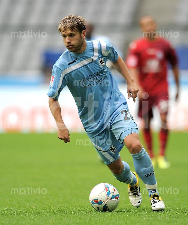 2. Fussball Bundesliga:  Saison   2011/2012,    8.  Spieltag  TSV 1860 Muenchen - FSV Frankfurt  18.09.2011 Daniel Halfar (1860 Muenchen)