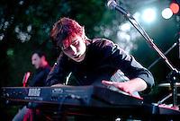 Segrate (Milano). Lele Battista live @ MIAMI festival 2007. Tastiera ... keyboard piano