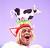 Jack and the Beanstalk <br /> by Susie McKenna with music by Steven Edis <br /> at the Hackney Empire, London, Great Britain <br /> press photocall <br /> 25th November 2015  <br /> <br /> Clive Rowe as Dame Daisy Trott<br /> <br /> <br /> Photograph by Elliott Franks <br /> Image licensed to Elliott Franks Photography Services