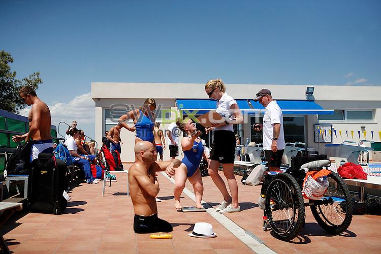 PICTURE BY VAUGHN RIDLEY/SWPIX.COM - Disability Swimming - Warm Weather Training Camp - Best Swim Centre, Colonia Sant Jordi, Mallorca, Spain - 23/05/12 - Ellie Simmonds.