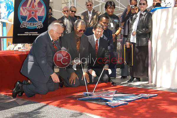 Morgan Freeman's star is unveiled