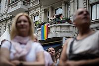 Berlin, Eröffnung des schwul-lesbischen Stadtfestes am Samstag (15.06.13) in Berlin. Foto: Maja Hitij/CommonLens