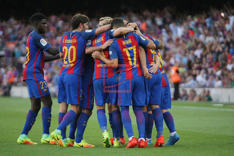 League Santander 2016/2017. Game: 1.<br /> FC Barcelona vs Real Betis: 6-2.