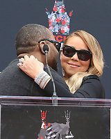 HOLLYWOOD, CA - NOVEMBER 1: Mariah Carey, Lee Daniels, at Mariah Carey Hand And Footprint Ceremony' At The TCL Chinese Theatre in Hollywood, California on November 1, 2017. Credit: Faye Sadou/MediaPunch /NortePhoto.com