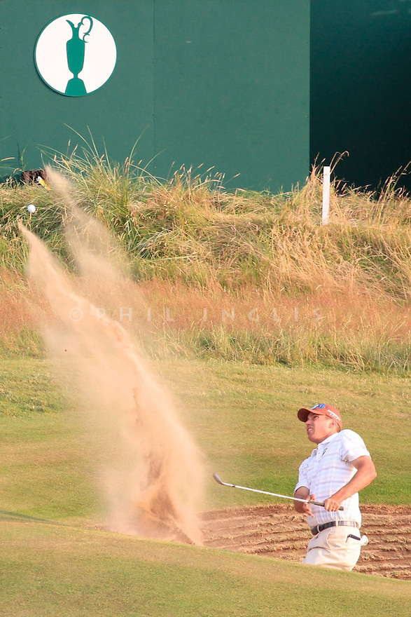 Matt KUCHAR (USA) in action during the second round of the 143rd Open Championship played at Royal Liverpool Golf Club, Hoylake, Wirral, England. 17 - 20 July 2014 (Picture Credit / Phil Inglis)