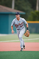 Detroit Tigers Colby Bortles (45) during practice before an Instructional League game against the Pittsburgh Pirates on October 6, 2017 at Pirate City in Bradenton, Florida.  (Mike Janes/Four Seam Images)