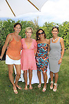 Cheryl Berrett - mom Anne - sister Kathryn & sister Beth - Splash benefitting Hearts of Gold was held at the home of Cheryl and Michael Barrett on June 28, 2013 in Briarcliff Manor, New York with Boutique shopping, raffle/silent auction, poolside luncheon, sizzling summer fashion show - Hearts of Gold Deborah Koenigsbberger headed the event.  (Photo by Sue Coflin/Max Photos)