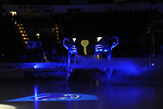 Einlauf des ERC Ingolstadts beim Spiel in der DEL, ERC Ingolstadt (blau) - Nuernberg Ice Tigers (weiss).<br /> <br /> Foto &copy; PIX-Sportfotos *** Foto ist honorarpflichtig! *** Auf Anfrage in hoeherer Qualitaet/Aufloesung. Belegexemplar erbeten. Veroeffentlichung ausschliesslich fuer journalistisch-publizistische Zwecke. For editorial use only.