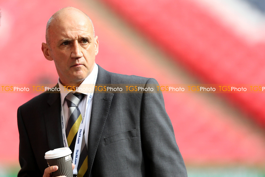 Cambridge United Manager Richard Money - Cambridge United vs Gosport Borough - FA Challenge Trophy Final at Wembley Stadium, London - 23/03/14 - MANDATORY CREDIT: Simon Roe/TGSPHOTO - Self billing applies where appropriate - 0845 094 6026 - contact@tgsphoto.co.uk - NO UNPAID USE