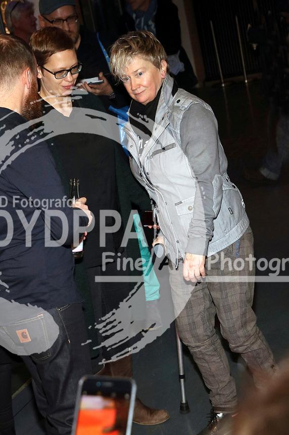 Anne Clark bei der Premiere des Dokumentarfilms 'Anne Clark - I'll Walk Out Into Tomorrow' im Kino in der Kulturbrauerei. Berlin, 24.01.2018
