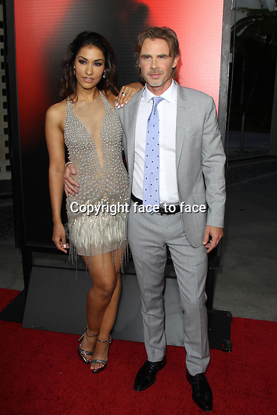 HOLLYWOOD, CA - JUNE 11: Janina Gavankar and Sam Trammell at the premiere of HBO's 'True Blood' Season 6 at ArcLight Cinemas Cinerama Dome on June 11, 2013 in Hollywood, California. <br /> Credit: MediaPunch/face to face<br /> - Germany, Austria, Switzerland, Eastern Europe, Australia, UK, USA, Taiwan, Singapore, China, Malaysia, Thailand, Sweden, Estonia, Latvia and Lithuania rights only -