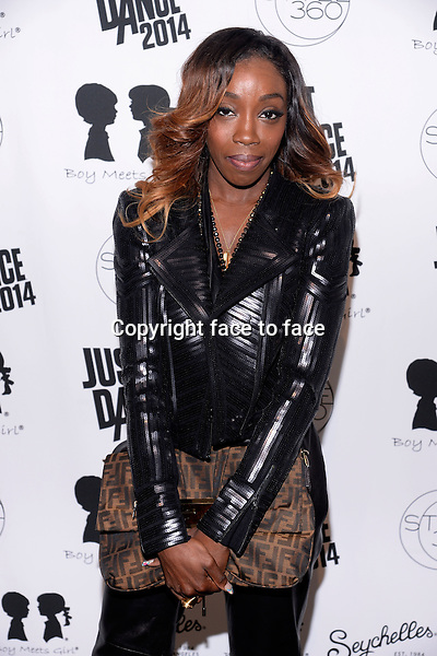 NEW YORK, NY - SEPTEMBER 12: Singer Estelle pictured at Dance with Boy Meets Girl show at the STYLE360 Fashion show at the Pavilion in Chelsea, on September 12, 2013 in New York CityCredit: Pluviose/RTN/MediaPunch Inc.<br />