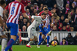 Real Madrid's Mateo Kovacic Atletico de Madrid's Koke Resurrecccion during the match of La Liga between Atletico de Madrid and Real Madrid at Vicente Calderon Stadium  in Madrid , Spain. November 19, 2016. (ALTERPHOTOS/Rodrigo Jimenez)