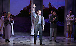 "Judy Kaye and Max von Essen with Cody Simpson making his Broadway Debut Bows in ""Anastasia"" at the Broadhurst Theatre on November 29, 2018 in New York City."