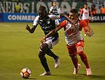 Independiente Santa Fe venció 1-2 (2-3 en el global) a Deportivo Cali. Cuartos de final vuelta Conmebol Sudamericana.