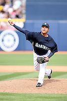 March 8, 2009: Luis Pena (73) of the Seattle Mariners at Peoria Sports Complex in Peoria, AZ.  Photo by: Chris Proctor/Four Seam Images