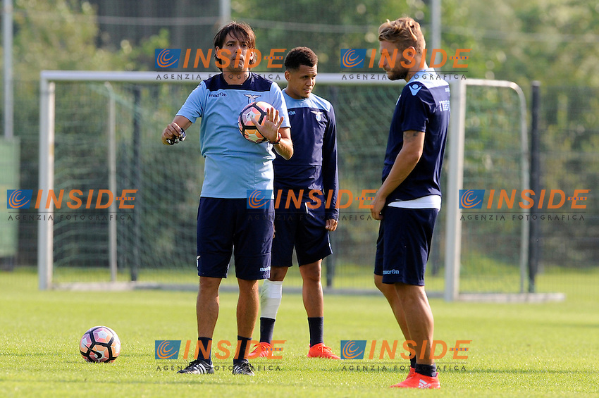 Simone Inzaghi, Ciro Immobile<br /> 06-08-2016 Marienield<br /> Allenamento Lazio <br /> SS Lazio traning day<br /> @ Marco Rosi / Fotonotizia / Insidefoto