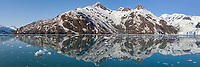 Chugach Mountans, Surprise glacier, Harriman Fjord, Prince William Sound, Alaska.