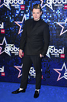 John Newman<br /> arriving for the Global Awards 2019 at the Hammersmith Apollo, London<br /> <br /> ©Ash Knotek  D3486  07/03/2019