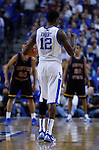Brandon Knight gave the coaches a thumbs up during the game against Coppin State on Tuesday, December 28, 2010 at Rupp Arena. Photo by Latara Appleby | Staff