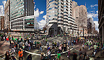 Charlotte NC - St Patricks Day Parade in Uptown Charlotte