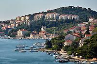 Michael McCollum.6/12/11.The new city of Dubrovnik, Croatia