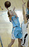 1-17-14, Skyline v Saline girl's basketball