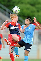 Boyds, MD - Saturday June 25, 2016: Tori Huster, Raquel Rodriguez during a United States National Women's Soccer League (NWSL) match between the Washington Spirit and Sky Blue FC at Maureen Hendricks Field, Maryland SoccerPlex.