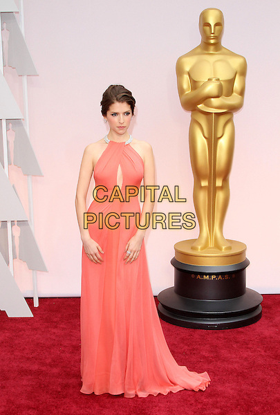 22 February 2015 - Hollywood, California - Anna Kendrick. 87th Annual Academy Awards presented by the Academy of Motion Picture Arts and Sciences held at the Dolby Theatre. <br /> CAP/ADM<br /> &copy;AdMedia/Capital Pictures Oscars