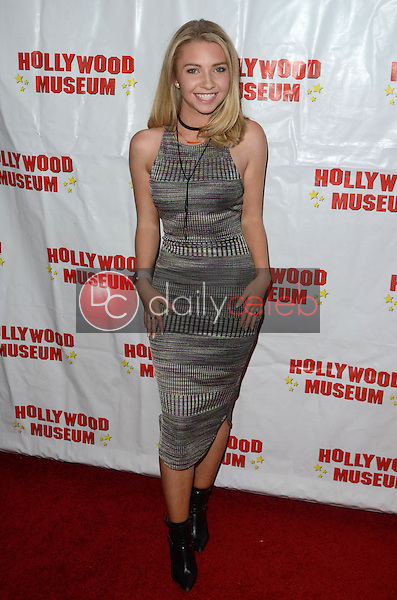 "Elise Luthman at ""Child Stars - Then and Now"" Exhibit Opening at the Hollywood Museum in Hollywood, CA on August 19, 2016. (Photo by David Edwards)"
