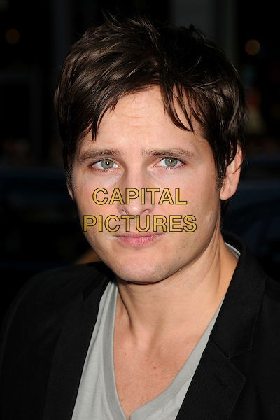 "PETER FACINELLI .Attending ""Letters To Juliet"" Los Angeles Premiere held at Grauman's Chinese Theatre, Hollywood, California , USA, .11th May 2010..arrivals portrait headshot  black grey gray .CAP/ADM/BP.©Byron Purvis/AdMedia/Capital Pictures."