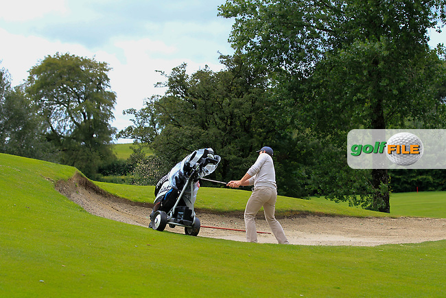 William Hanna (Kilkeel) on the 2nd during round 1 of The Mullingar Scratch Cup in Mullingar Golf Club on Sunday 3rd August 2014.<br /> Picture:  Thos Caffrey / www.golffile.ie