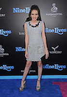 """01 August 2016 - Hollywood, California. Teddy Sears, Milissa Skoro. World premiere of """"Nine Lives"""" held at the TCL Chinese Theatre. Photo Credit: Birdie Thompson/AdMedia01 August 2016 - Hollywood, California. Lilimar. World premiere of """"Nine Lives"""" held at the TCL Chinese Theatre. Photo Credit: Birdie Thompson/AdMedia"""