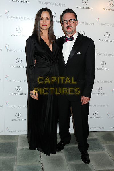 11 January 2014 - Los Angeles, California - Christina McLarty, David Arquette. 7th Annual Art of Elysium Heaven Gala held at the Skirball Cultural Center.  <br /> CAP/ADM/BP<br /> &copy;Byron Purvis/AdMedia/Capital Pictures