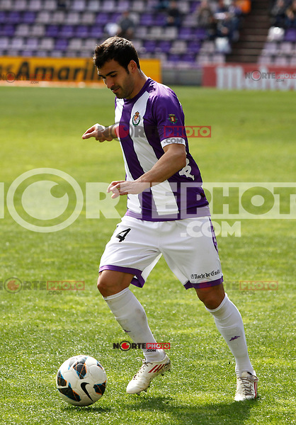 Real Valladolid´s Balenziaga during match of La Liga 2012/13. 31/03/2013. Victor Blanco/Alterphotos /NortePhoto