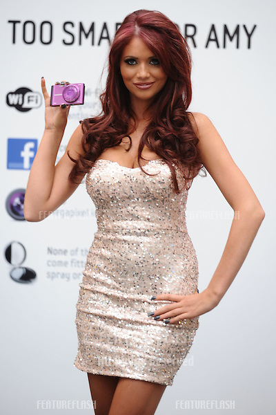 Amy Childs launches the new Samsung SMART cameras at Westfield, Sherpherds Bush, London. 01/05/2012 Picture by: Steve Vas / Featureflash
