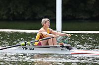 Race: 87  W.MasD.1x  Semi-Final<br /> 288  Talkin Tarn Amateur Rowing Club (Lewis)<br /> 289  Maidenhead Rowing Club (Harker)<br /> <br /> Henley Masters Regatta 2018 - Friday<br /> <br /> To purchase this photo, or to see pricing information for Prints and Downloads, click the blue 'Add to Cart' button at the top-right of the page.