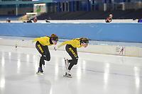 SCHAATSEN: HEERENVEEN: 08-11-2018, IJsstadion Thialf, Topsporttraining, ©foto Martin de Jong