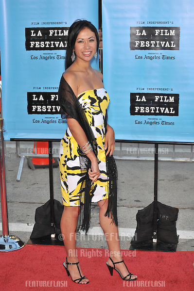 "Elaine Loh at the world premiere of ""Paper Man"" - the opening night movie for the Los Angeles Film Festival - at the Mann Village Theatre, Westwood..June 18, 2009  Los Angeles, CA.Picture: Paul Smith / Featureflash"