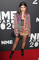 Molly Moorish at the NME Awards 2020 held at the O2 Brixton Academy, London on February 12th 2020<br /> CAP/ROS<br /> ©ROS/Capital Pictures